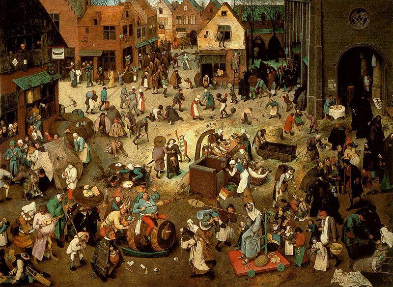 fašiangy v stredoveku