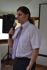 Mgr. Vojtech Laurinec na konferencii Spoločne pre vidiek