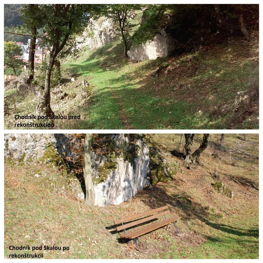 chodník pod Skalou_stav pred a po1